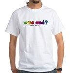 Got ASL? Rainbow CC White T-Shirt