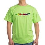 Got ASL? Rainbow CC Green T-Shirt