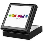 Got ASL? Rainbow CC Keepsake Box