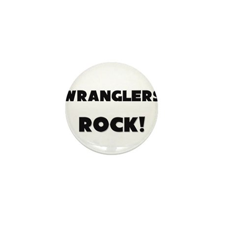 Wranglers ROCK Mini Button (10 pack)