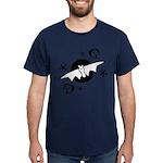 Halloween Bats Dark T-Shirt
