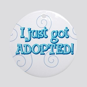 Just adopted 22 Ornament (Round)