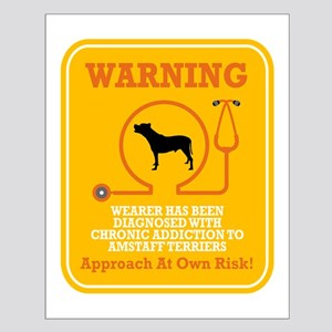 American Staffordshire Terrie Small Poster