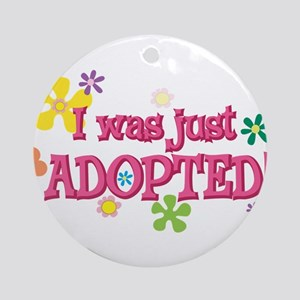 Just adopted 44 Ornament (Round)