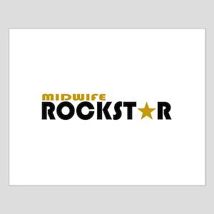 Midwife Rockstar Small Poster