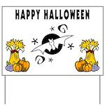 Halloween Bats Yard Sign