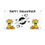 Halloween Bats Banner