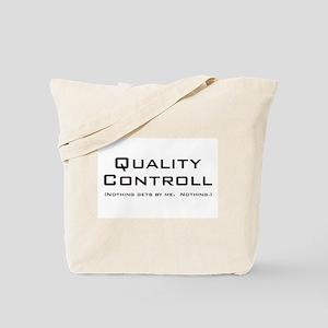 Q Controll Tote Bag