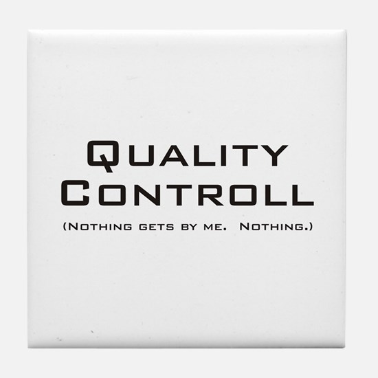 Q Controll Tile Coaster