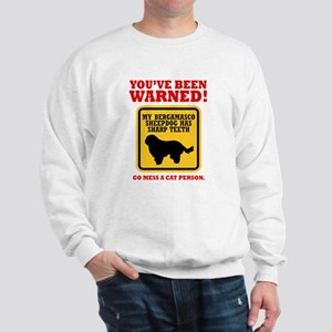Bergamasco Sheepdog Sweatshirt