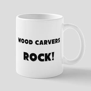 Wood Carvers ROCK Mug