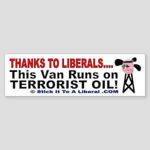 This Van Runs On Terrorist Oil!