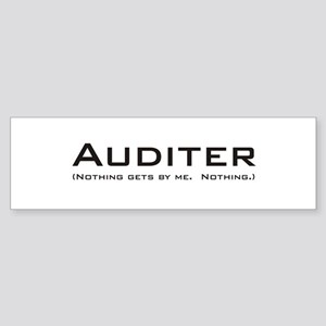 Auditer Bumper Sticker