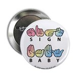 Captioned SIGN BABY SQ 2.25
