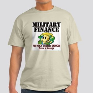 """""""Finance"""" Ash Grey T-Shirt"""
