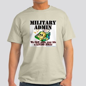 """Admin"" Ash Grey T-Shirt"