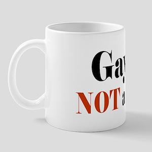 Gay is NOT a Defect Mug