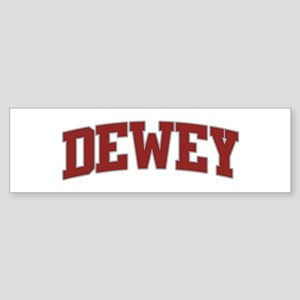 DEWEY Design Bumper Sticker