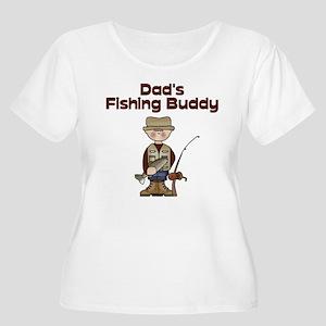 dadsfishingbuddy2 Plus Size T-Shirt