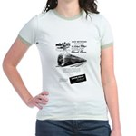 Lehigh Valley Railroad Jr. Ringer T-Shirt