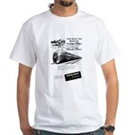 Lehigh Valley Railroad White T-Shirt