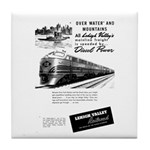 Lehigh Valley Railroad Tile Coaster