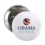 """Obama / Biden 2.25"""" Button"""