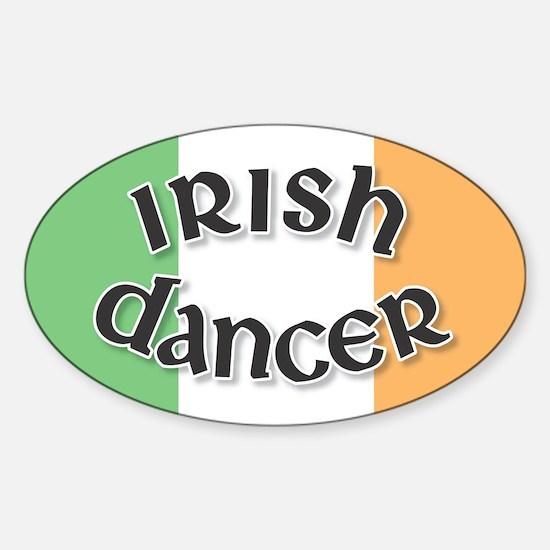 Tricolor Irish Dancer Decal