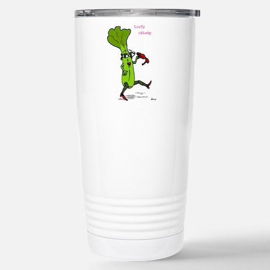 Lusty Celery Stainless Steel Travel Mug