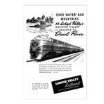 Lehigh Valley Railroad Postcards (Package of 8)