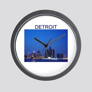 detroit Wall Clock