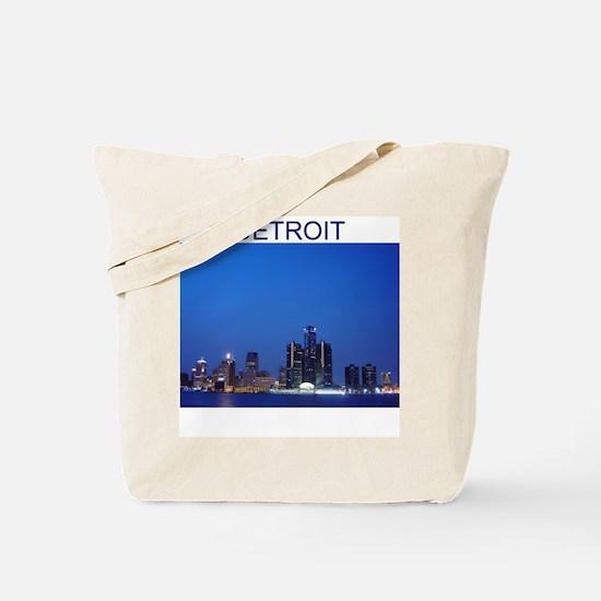 detroit Tote Bag