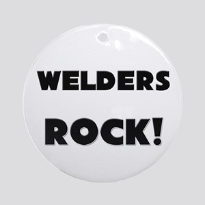 Welders ROCK Ornament (Round)