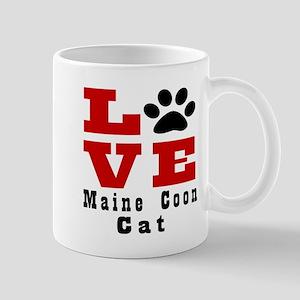 Love main coon Cat Mug