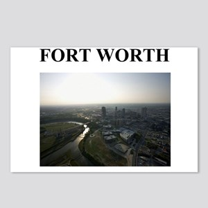 fort worth gifts and t-shirts Postcards (Package o