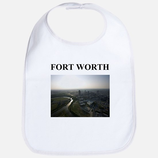 fort worth gifts and t-shirts Bib