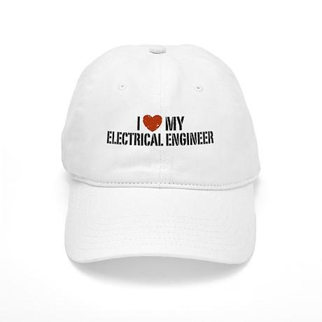 I Love My Electrical Engineer Cap