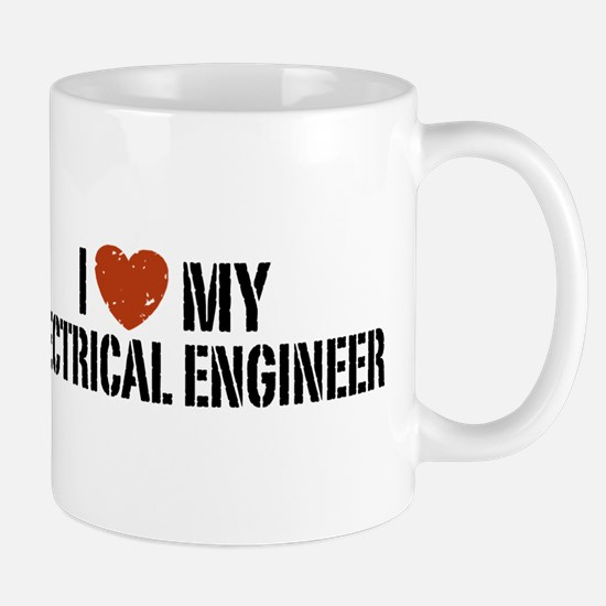 I Love My Electrical Engineer Mug Mugs