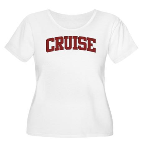CRUISE Design Women's Plus Size Scoop Neck T-Shirt