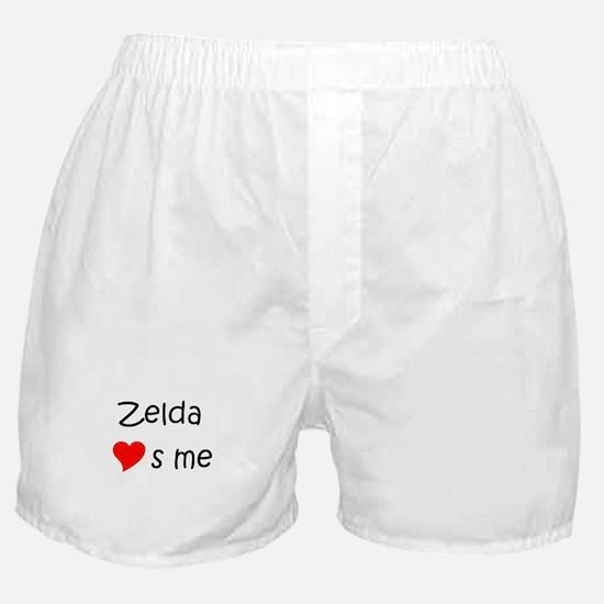 Funny Zelda Boxer Shorts