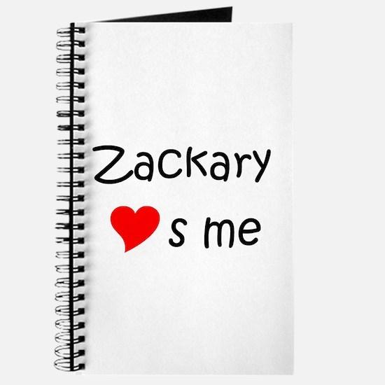Cute Zackary Journal