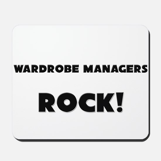 Wardrobe Managers ROCK Mousepad
