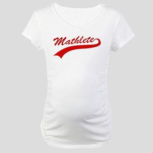 Mathlete Maternity T-Shirt