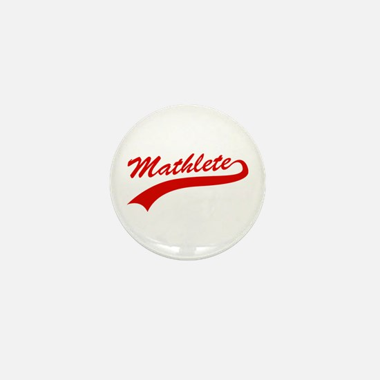 Mathlete Mini Button