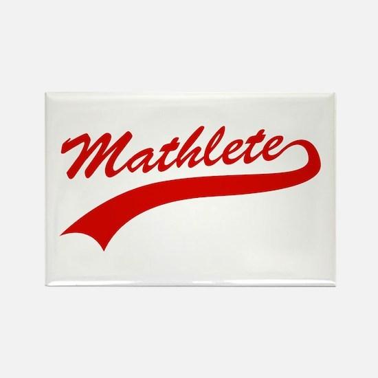 Mathlete Rectangle Magnet