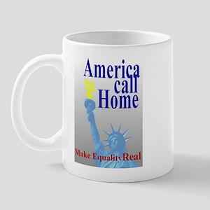 America Call Home Mug