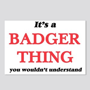 It's a Badger thing, Postcards (Package of 8)