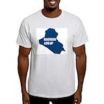 Baghdad Ass Up Ash Grey T-Shirt