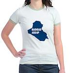 Baghdad Ass Up Jr. Ringer T-Shirt (3 Colors)