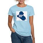 Baghdad Ass Up Women's Pink T-Shirt
